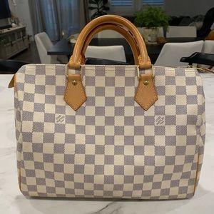 SOLD!! Authentic Louis Vuitton Speedy 30 Azur